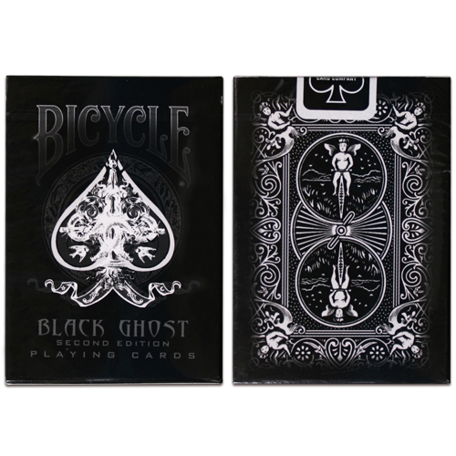 JLCC 블랙고스트덱(Bicycle Black Ghost 2nd Edition Decks)