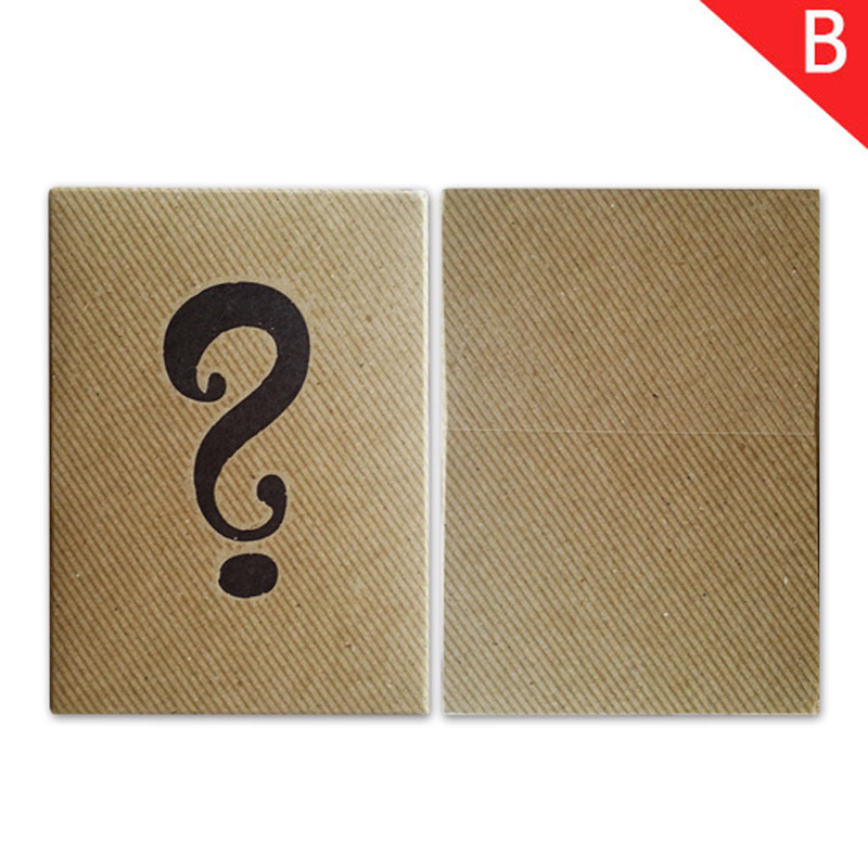 JLCC [B급]미스테리박스덱[B-class]Mystery Box Playing Cards